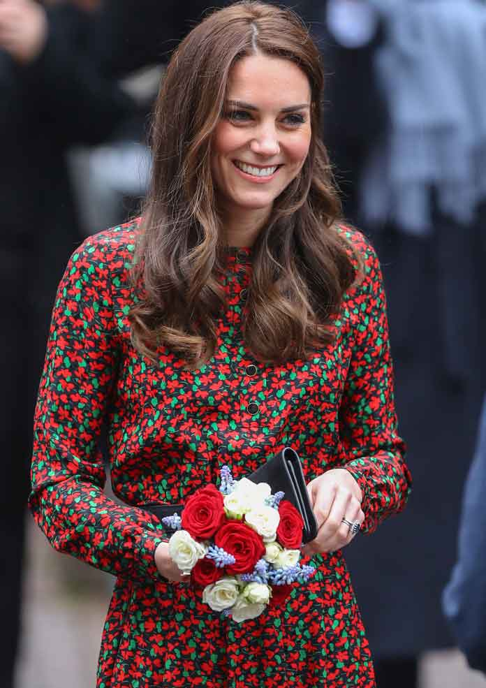 Kate Middleton & Prince William Attend Holiday Charity Event