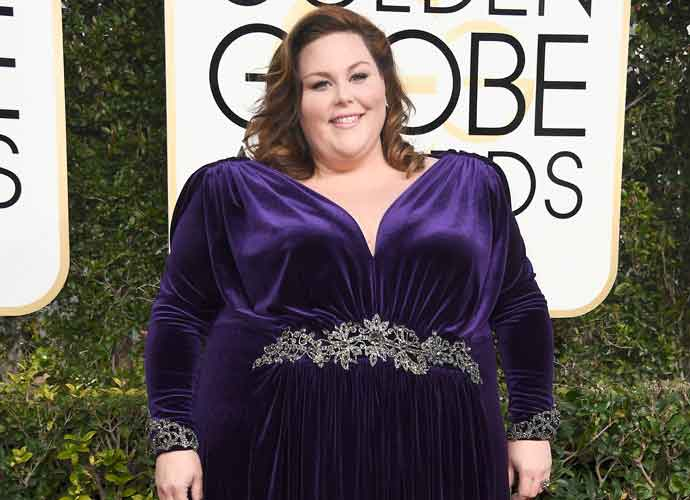 Chrissy Metz Opts For Nathaniel Paul Gown Over Planned Christian Soriano Pieces