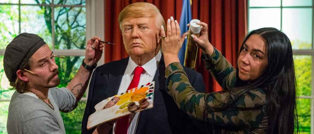 Madame Toussauds Unveils Donald Trump Wax Figure – With Yak Hair