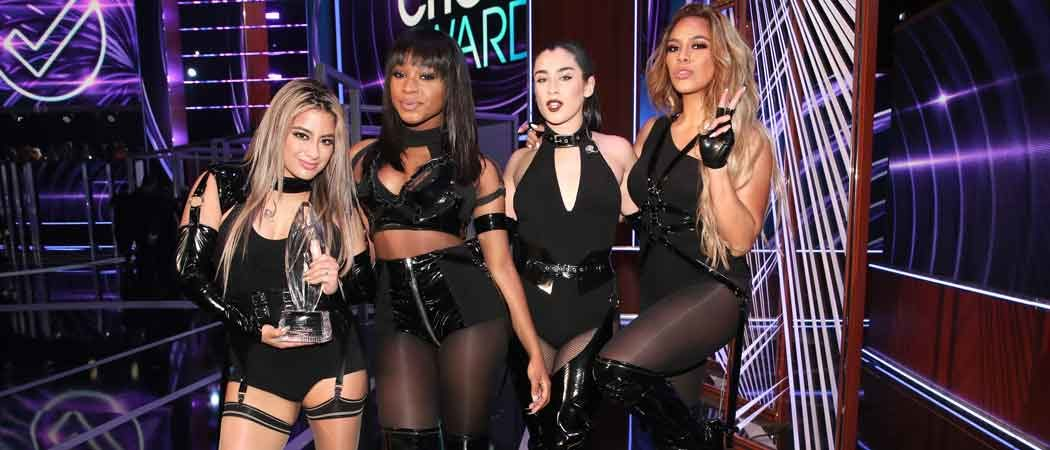 Fifth Harmony Performs For First Time As A Foursome At People's Choice Awards 2017