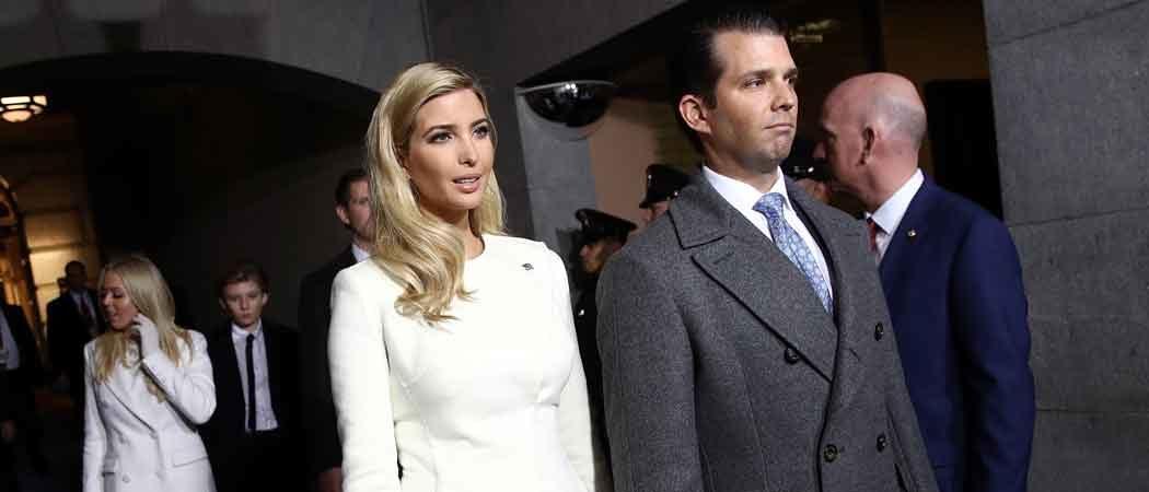 Ivanka Trump Stuns In Oscar De La Renta Suit For Inauguration