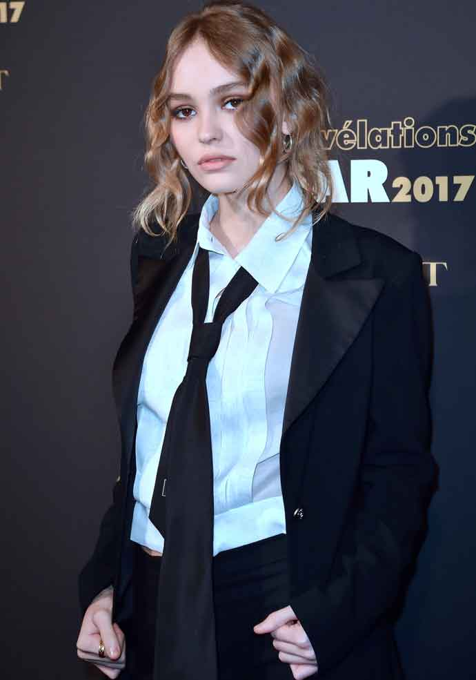 Lily-Rose Depp Suits Up In Chanel For César Révélations Event