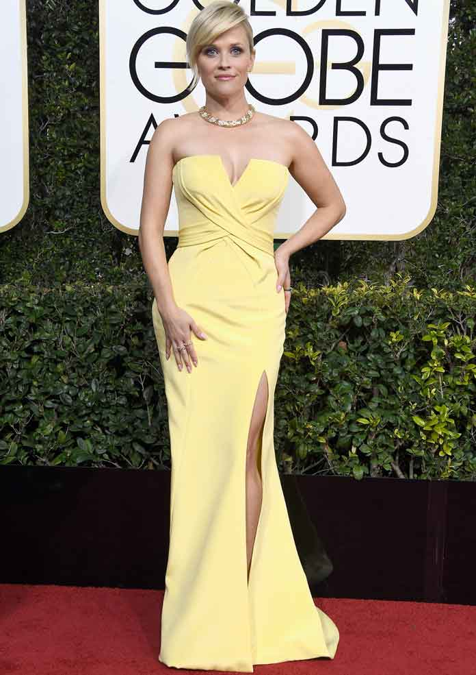 Golden Globes 2017 Best Dressed: Reese Witherspoon