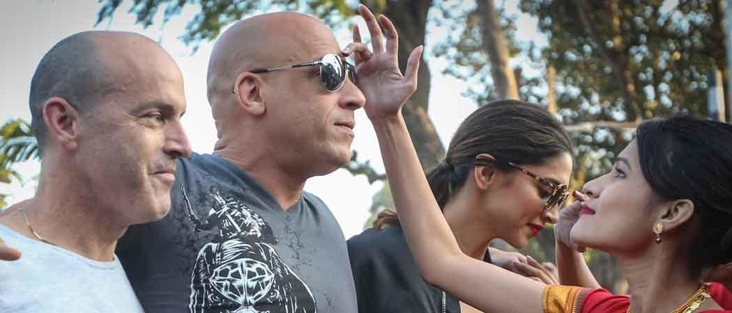 Vin Diesel, DJ Caruso, Deepika Padukone Promote 'xXx' In India