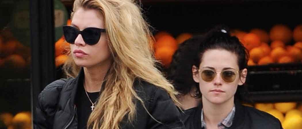 Kristen Stewart Out Shopping With New Model Girlfriend Stella Maxwell