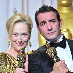 Meryl Streep, 'The Artist' Take Home Oscars
