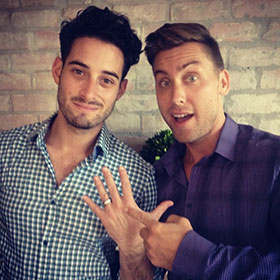 Lance Bass Engaged To Artist Michael Turchin