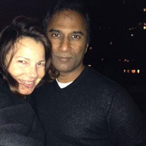 Fran Drescher's New Boyfriend: Makes Red Carpet Debut With Shiva Ayyadurai
