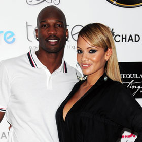 ENGAGED: Chad Ochocinco And Evelyn Lozada