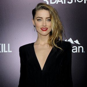 Amber Heard Talks Condom Dresses And Staying In Shape