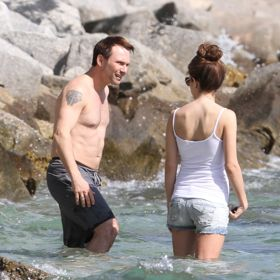 Christian Slater's Fun In The Sun