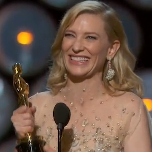 Cate Blanchett Wins Best Actress At The Oscars, Tells Julia Roberts To '#Suck It'