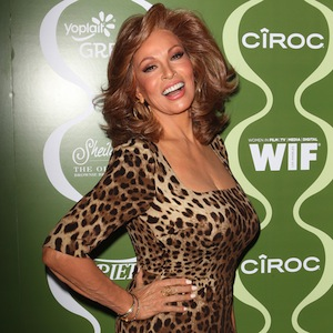 Raquel Welch In Tight Dress Wows At Pre-Emmy Party At 73