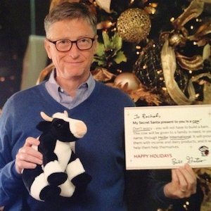Bill Gates Is Reddit User's Secret Santa