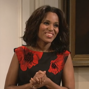 Kerry Washington Tackles Saturday Night Live's Lack Of Black Female Castmembers