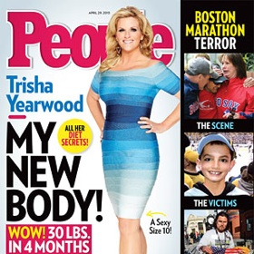 Trisha Yearwood Drops 30 Pounds, Two Dress Sizes