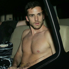 Guy Berryman Leaves Cape Town Shirtless