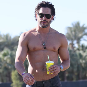 Coachella 2012: Joe Manganiello Shirtless