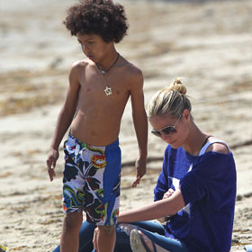 Heidi Klum Saves Son Henry From Drowning