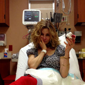 Kyra Sedgwick Slices Off The Tip Of Her Finger; Kevin Bacon Shares Photos