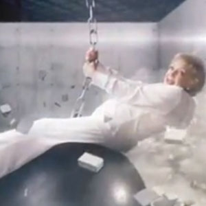 "Betty White Spoofs Miley Cyrus' ""Wrecking Ball"" Music Video To Promote 'Off Their Rockers'"