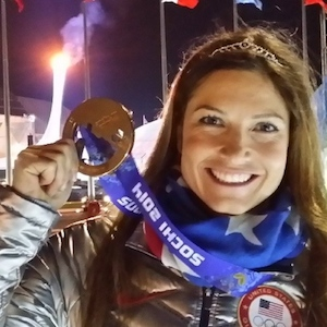 Julia Mancuso Secures Place In Olympic History After Winning Bronze In Women's Super-Combined