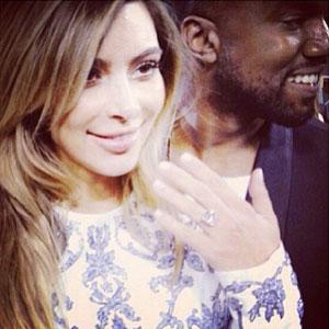 Kim Kardashian And Kanye West Engaged After Romantic San Francisco Proposal [PHOTOS]