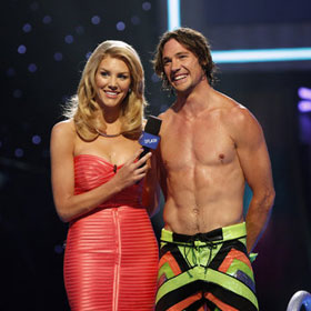 Rory Bushfield Defeats Nicole Eggert, Drake Bell To Win 'Splash' [Video]