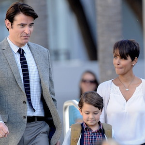 Halle Berry Films 'Extant' With Goran Visnjic