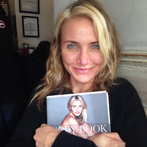 Cameron Diaz Goes Makeup Free On Instagram