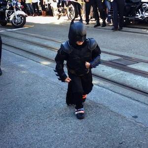 Bat Kid Miles, 5-Year-Old Battling Leukemia, Gets To Save San Francisco