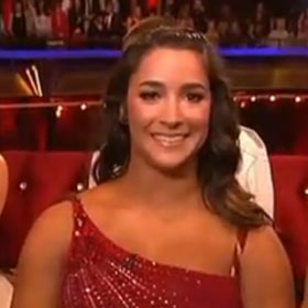 'Dancing With The Stars' Recap: Aly Raisman Ends The Night On Top