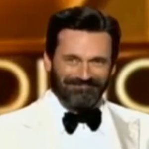 Jon Hamm's Beard Steals The Spotlight At Emmys