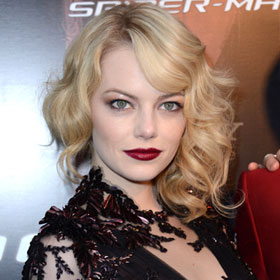 Emma Stone Turns On The Dark At French Premiere Of 'The Amazing Spider-Man'