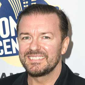 VIDEO: Ricky Gervais To Host Golden Globes Again