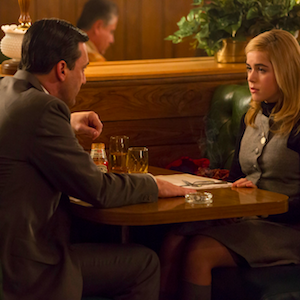 'Mad Men' Recap: Don & Sally Bond; Peggy Struggles On Valentine's Day