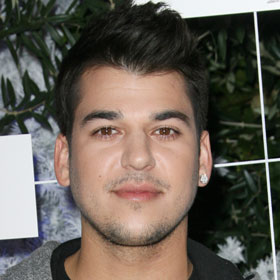 Rob Kardashian Opens Up To Lamar Odom About Weight Gain