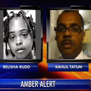 Amber Alert For 8-Year-Old Relisha Rudd In Full Effect
