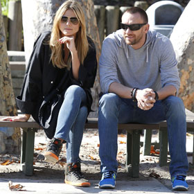 Heidi Klum And Martin Kristen Take It Easy