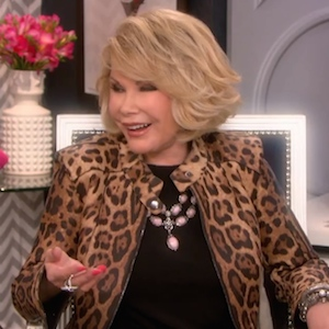 Fashion Police Joan Rivers Full Episodes Melissa Rivers Remembers Joan
