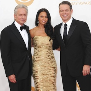EMMY SLIDESHOW: Matt Damon, Luciana Barrosa, Michael Douglas + Many More