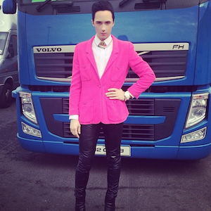 Johnny Weir's Sochi Fashions Captivate Viewers