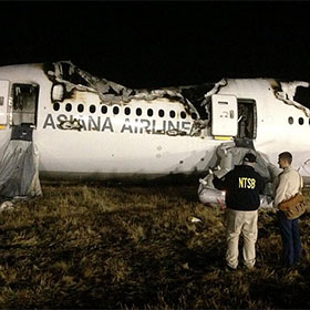 NTSB Intern Fired: Volunteer Confirmed Fake Asiana Flight 214 Pilots Names To KTVU