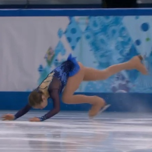 Russia's Yulia Lipnitskaya Falls During Short Program, Going Into Free Skate In Fifth Place