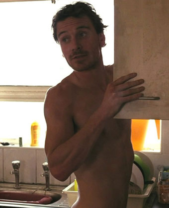 Michael Fassbender Goes Shirtless In A Scene From The Drama Film 'Fish Tank'
