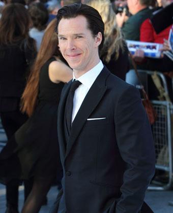 Benedict Cumberbatch At 'Star Trek' Premiere