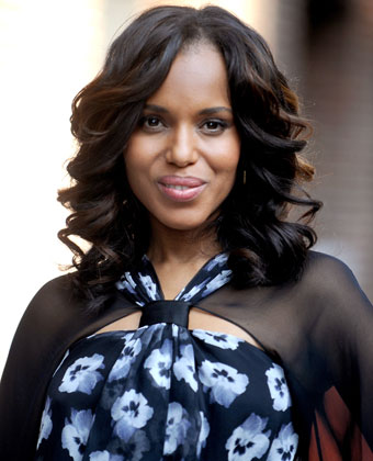 Kerry Washington At 'Late Show With David Letterman'