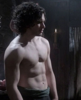 Kit Harington Shirtless In 'Game Of Thrones'