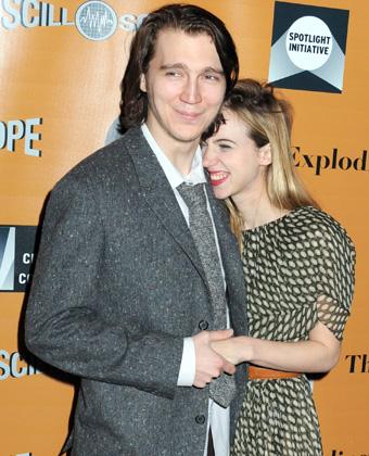 Zoe Kazan With Paul Dano