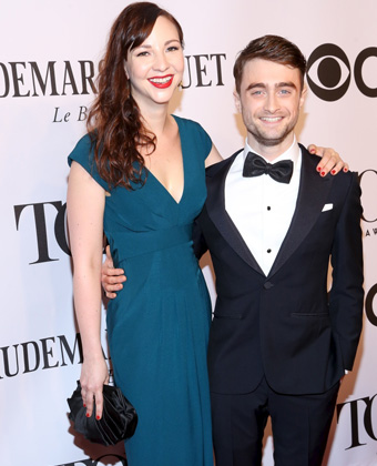 Daniel Radcliffe With Fiancee Erin Darke